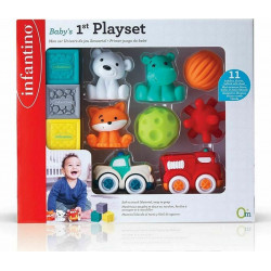 Σετ μαλακά παιχνίδια Infantino® Baby's 1st Playset