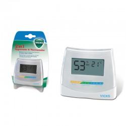 Vicks υγρόμετρο και θερμόμετρο V70EMEA