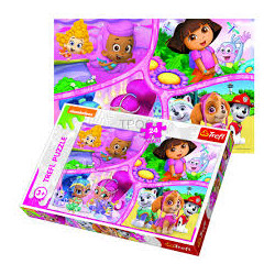 TREFL PUZZLE 24 MAXI 24ΤΜΧ NICKELODEON MULTI PROPERTY
