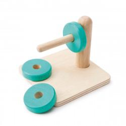 Ξύλινοι δίσκοι οριζόντιας τοποθέτησης Oxybul ATELIERS montessori