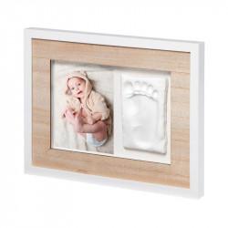 Κορνίζα τοίχου για αποτύπωμα μωρού Baby Art Tiny Style Wooden