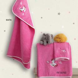 Πετσέτες Makis Tselios Home Uni σετ των 2