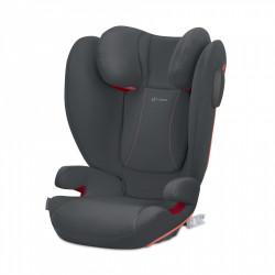 Κάθισμα αυτοκινήτου Cybex Silver Solution B2-Fix+ Lux Steel Grey 15-36 kg