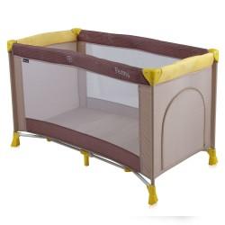 Παρκοκρέβατο LoreLLi® Penny Beige & Yellow