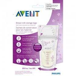 Philips-Avent σακουλάκια αποθήκευσης μητρικού γάλακτος (SCF603-25)