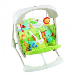 Φορητή κούνια 2 σε 1 Fisher-Price® Rainforest Friends CCN92