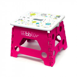 BBluv® πτυσσόμενο σκαλάκι Step Pink