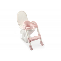 Thermobaby κάθισμα τουαλέτας με σκαλάκι Kiddyloo Powder Pink