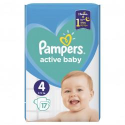 Πάνες Pampers® Active Baby-Dry No 4+ (9-16 kg) 16 τεμάχια