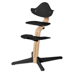 Σετ κάθισμα, υποπόδιο και βάση εδάφους καρέκλας Nomi Highchair Black