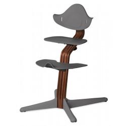 Σετ κάθισμα, υποπόδιο και βάση εδάφους καρέκλας Nomi Highchair Grey
