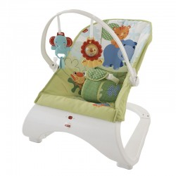 Καθισματάκι - ριλάξ Fisher-Price® Rainforest Friends CJJ79