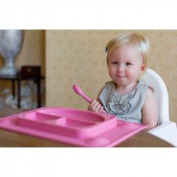 EasyMat® σετ πιάτο - σουπλά με βεντούζες και κουτάλι