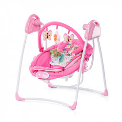 Κούνια - ριλάξ ChipoLiNo Paradise Pink
