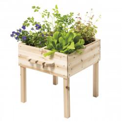 Ξύλινο παρτέρι λαχανικών και εργαλεία κηπουρικής Oxybul EXPLORbul