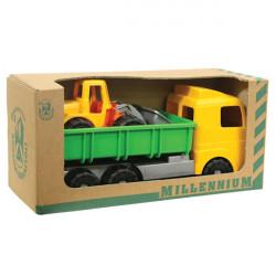 Χωματουργικά οχήματα Androni Giocattoli Millenium σετ των 2