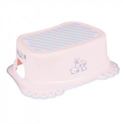 TEGA BABY® αντιολισθητικό σκαλάκι μπάνιου Little Bunnies Light Pink