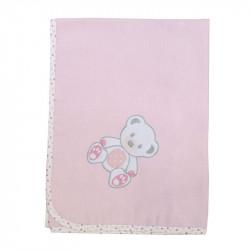 Πάνα φανέλα Baby Star Sweet Dots 85 x 90 cm