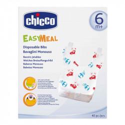 Σαλιάρα μίας χρήσης Chicco Easy Meal 40 τεμάχια
