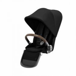 Πρόσθετο κάθισμα καροτσιού Cybex Gold Gazelle S TPE - Deep Black