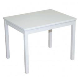 Ξύλινο παιδικό τραπέζι Roba® White