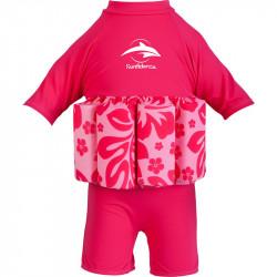 Σωσίβιο - ολόσωμο μαγιό Konfidence™ Floatsuit Hibiscus 4-5 ετών