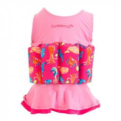 Σωσίβιο - ολόσωμο μαγιό Konfidence™ Floatsuit Mia 4-5 ετών